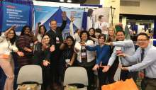 Geriatric Medicine team at the 2018 AGS in Orlando, FL